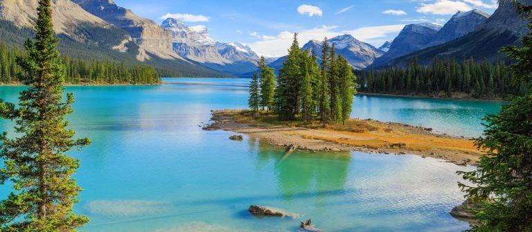 landschap van canada