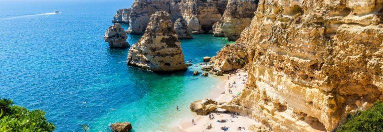 Algarve kliffen