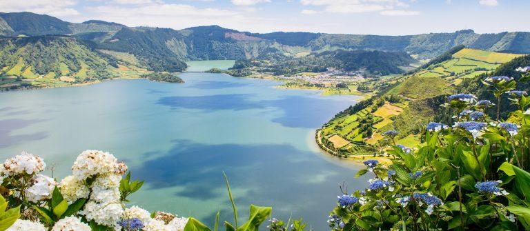 het meer van Sete Cidades