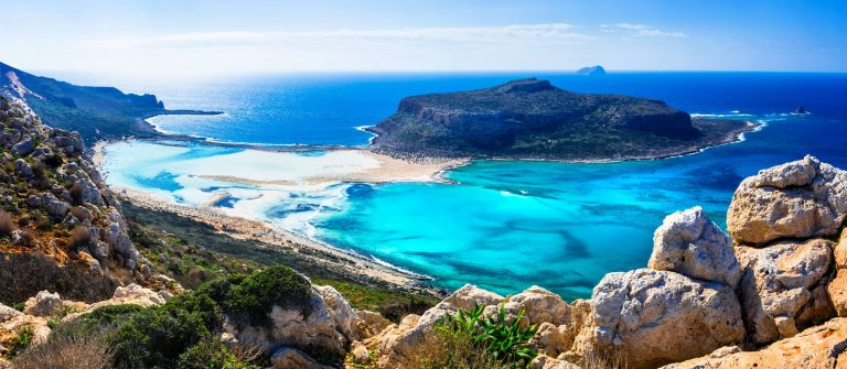 Baai in Kreta