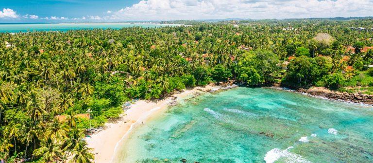 Blue lagoon Sri Lanka