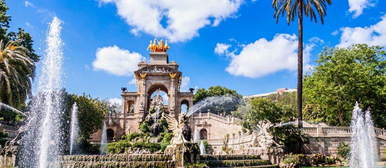 De fontijn van Parc de la Ciutadella, in Barcelona