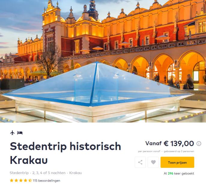Screenshot Krakau deal