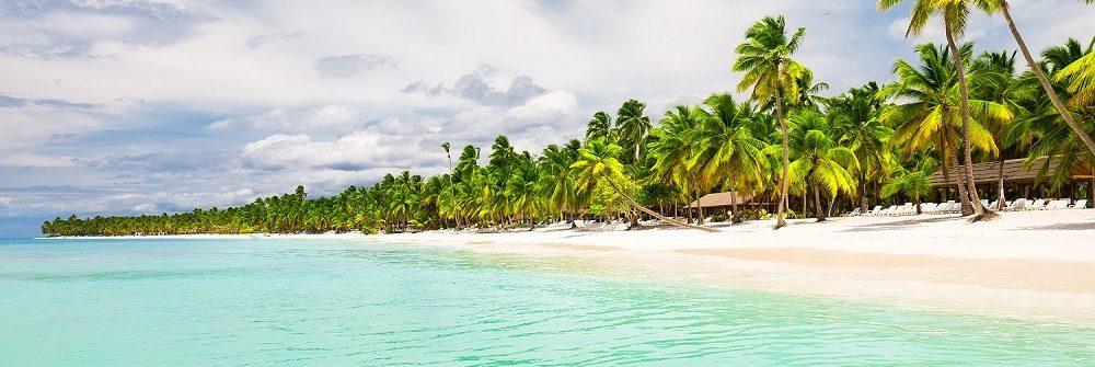 Het strand van Punta Cana op de Dominicaanse Republiek