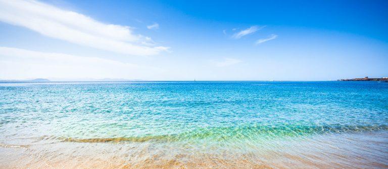 Het strand van Lanzarote