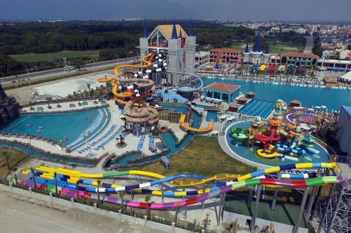 Waterpark bij resort