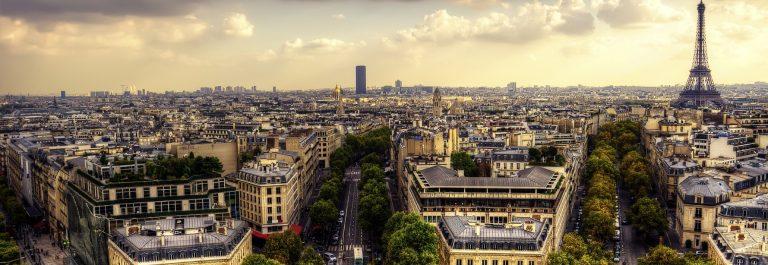 Luchtfoto van Parijs