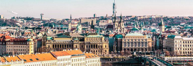 Overzicht van Praag