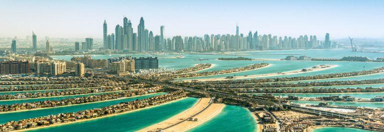 Palm eiland Dubai