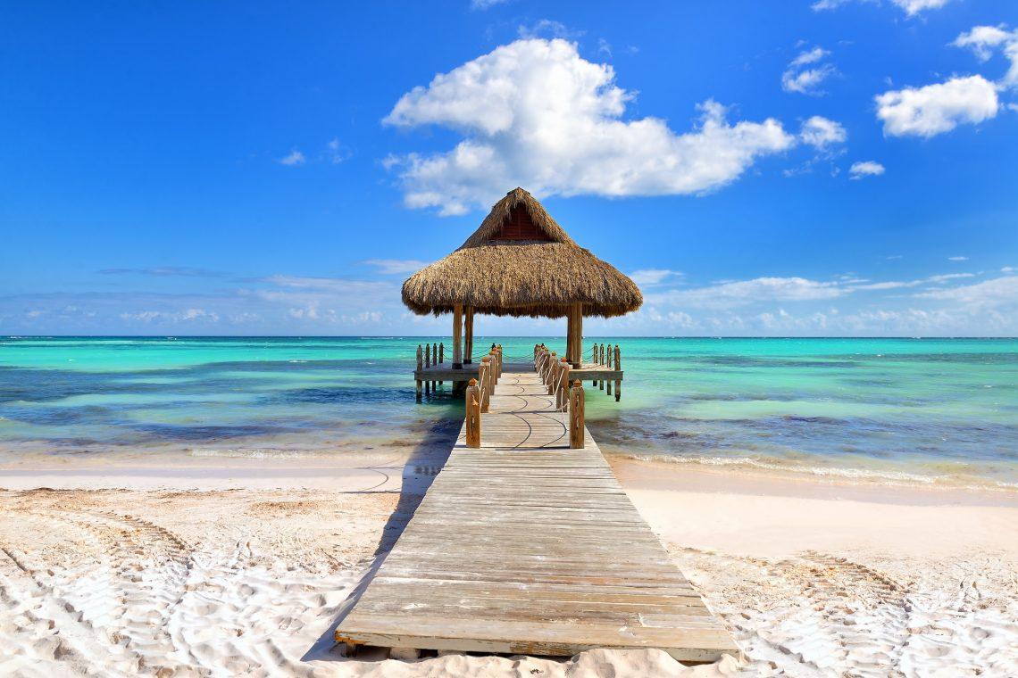 Strand op Punta Cana