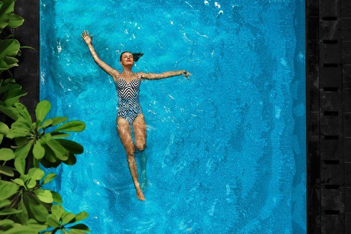Zwemmen in de wellness
