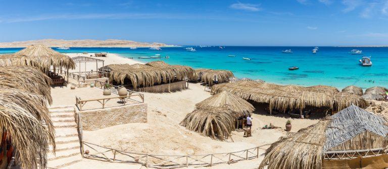 Mahmya Beach bij Hurghada