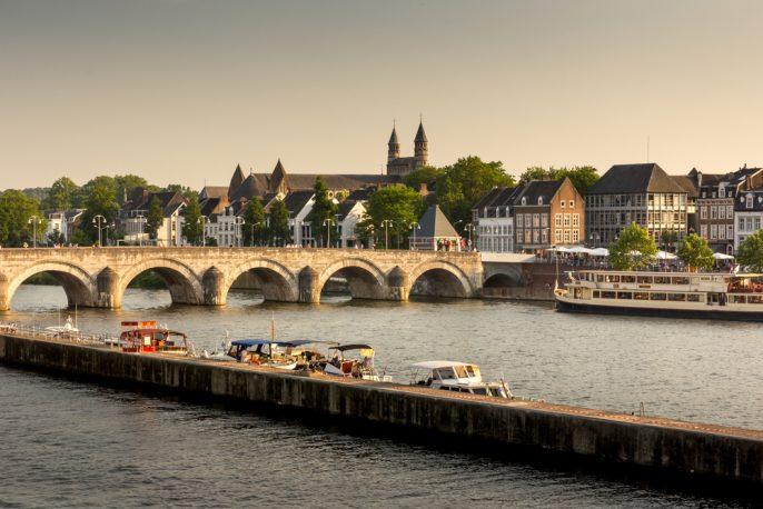 De Maas in Maastricht