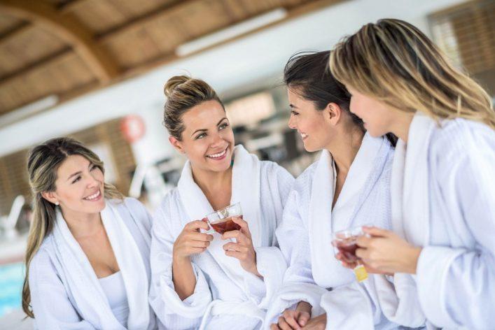Dagje wellness met vriendinnen