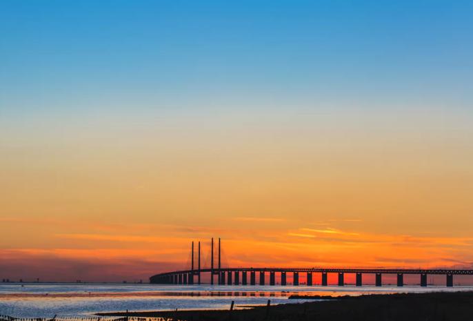 De kust van Zweden