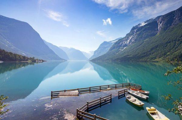 een prachtig fjord