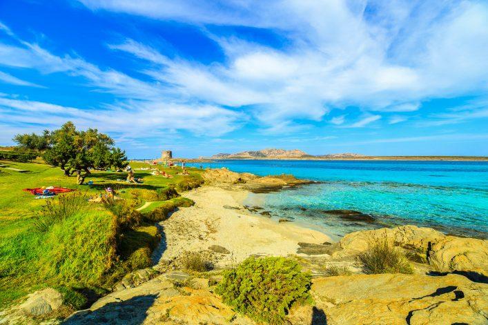 La Pelosa, Sardinië