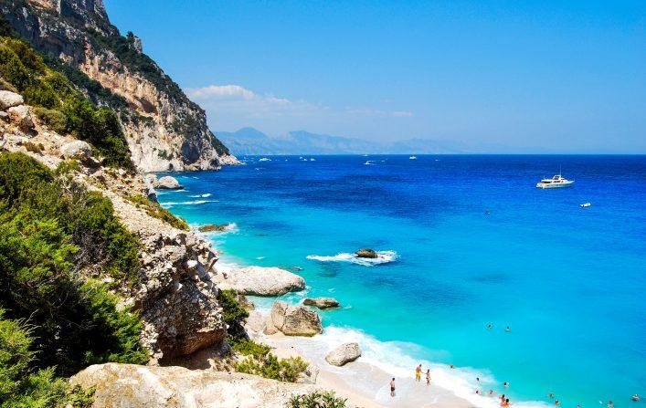 Cala Goloritze, Sardinië