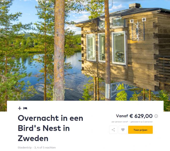 Screenshot reis Zweden