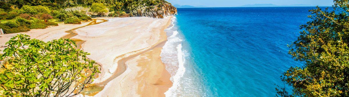 Gjipe strand in Albanië
