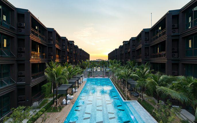 Saturdays Residence Nai Harn Beach Zwembad