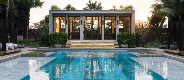 Saturdays Residence Nai Harn Beach Pool house