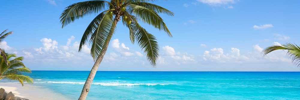 Stranden van Playa del Carmen