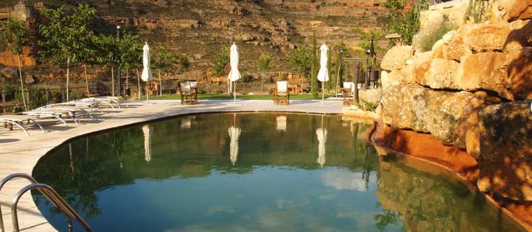 Castillo de Somaén zwembad