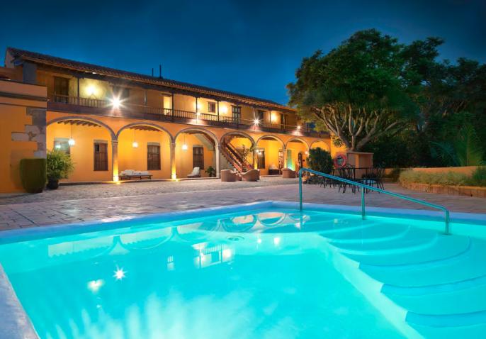 Zwembad Hacienda Del Buen Suceso, Gran Canaria