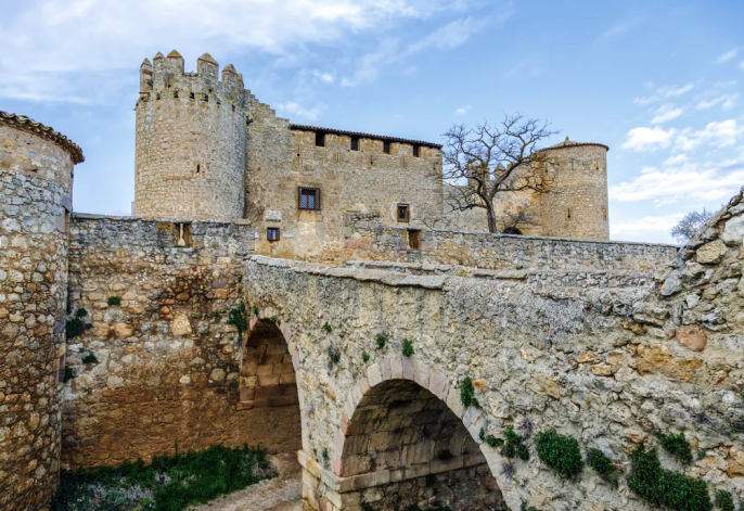Kasteel Soria Spanje