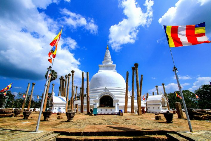 Thuparamaya-dagoba in Anuradhapura