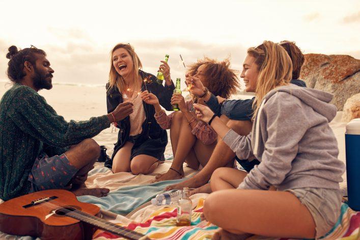 Vrienden maken tijdens single reis