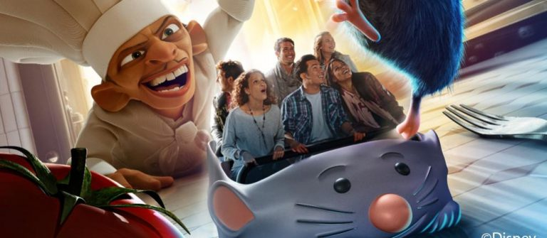 Disneyland ratatouille attractie