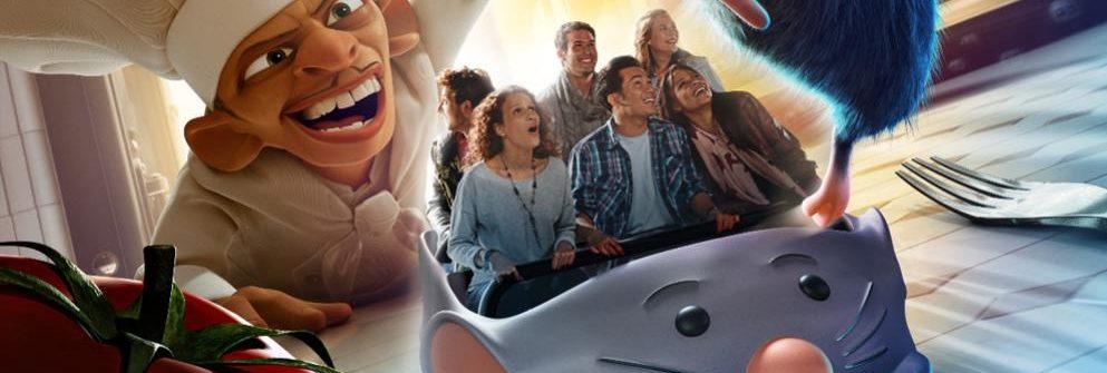 Disneyland ratatouille attractie