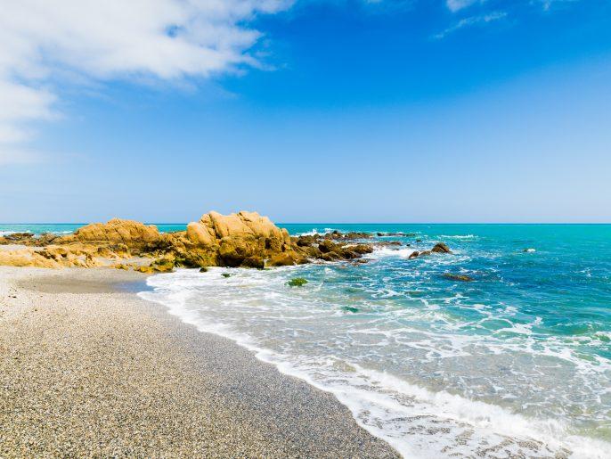 Stranden van Malaga