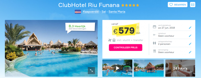screenshot hotel funana