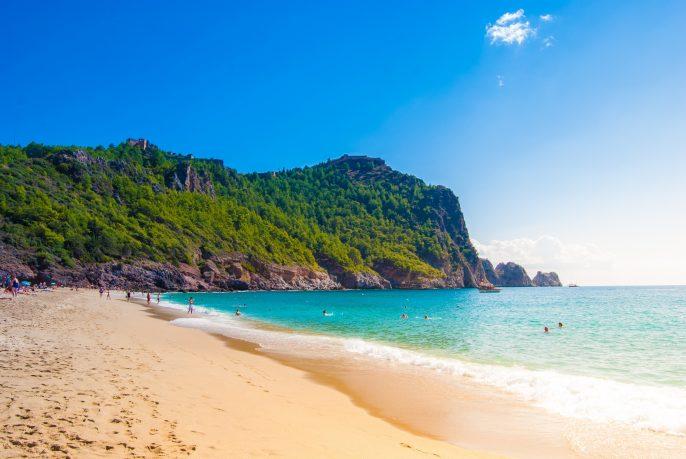 Turkije strand