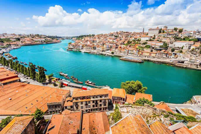 Douro rivier Porto