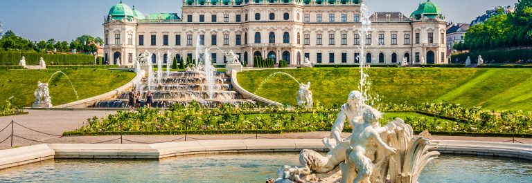 Het kasteel van Wenen