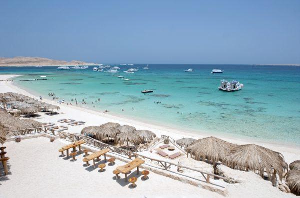 Stranden van Hurghada