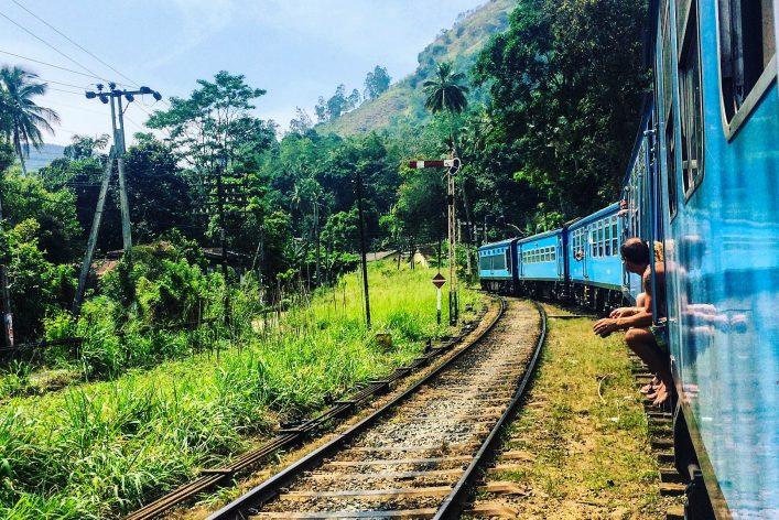 een adembenemende treinreis