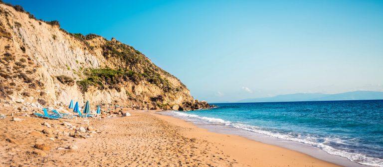 Strand op Kefalonia