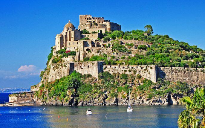 Castello Aragonese Ischia Voyage Prive