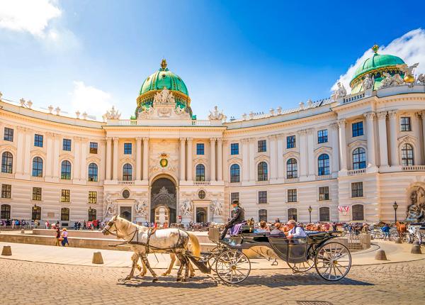 Paardenkoets in Wenen