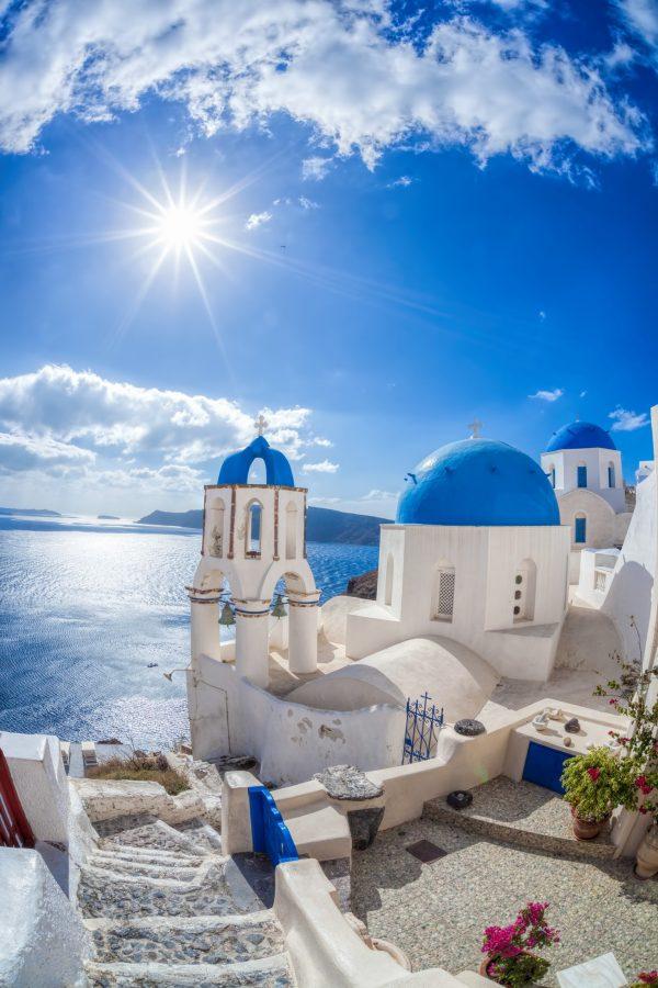 Santorini in Griekenland