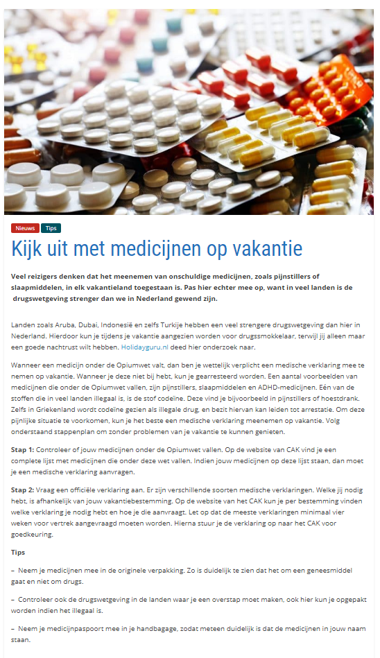 Screenshot Publiatie Voyago