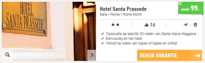 Screenshot stedentrip Rome