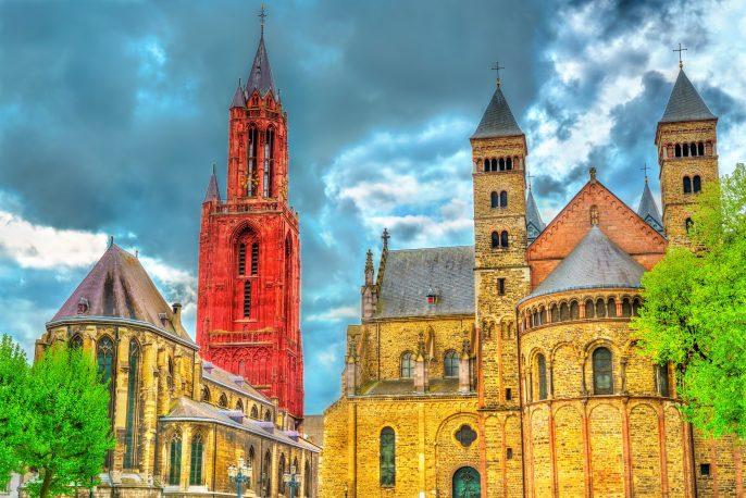 de kerken van Maastricht