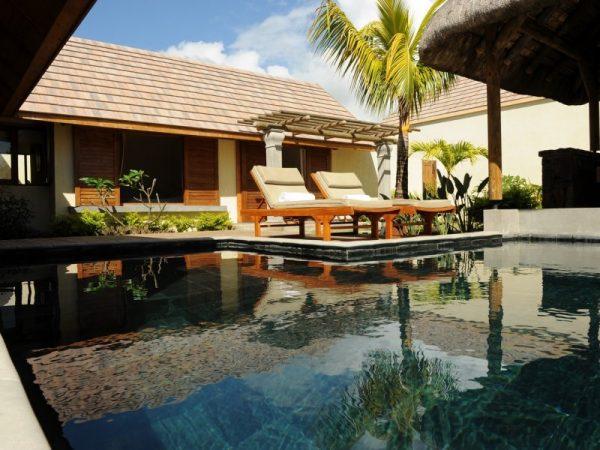 Les Villas Oasis op Mauritius