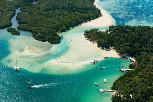 Ile aux Cerfs op Mauritius